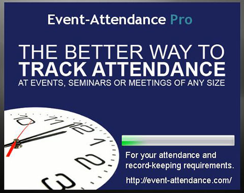 Event-Attendance Pro Desktop software for classes, training and OSHA compliance
